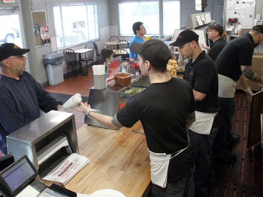 Table feature on the best subs in Central Jersey at