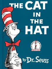 The cover of 'The Cat in the Hat' Beginner Books edition