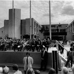 The dedication ceremony at Park Ridge Hospital in 1975.