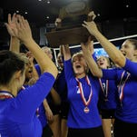 Brentwood wins fourth straight volleyball title