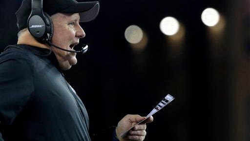 Chip Kelly was being questioned about his job after the Eagles lost to Detroit on Thanksgiving before turning it around against New England and Buffalo.