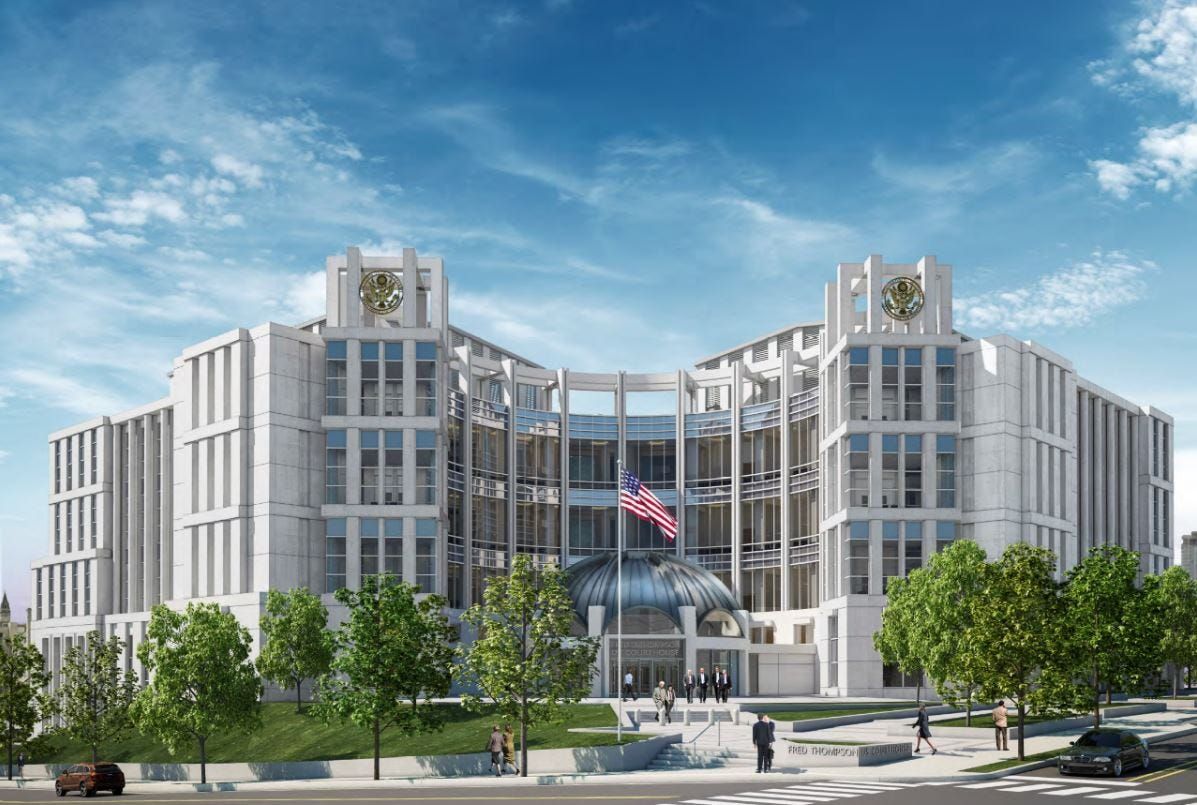 new look nashville federal courthouse to start rising by next summer rh tennessean com newcourt house nhs newcourt house nhs