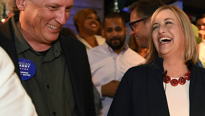 Bruce and Megan Barry will see their favorite baseball teams face off in the World Series.