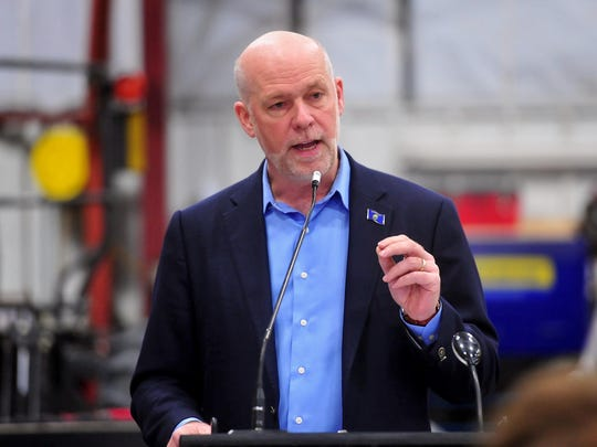 Greg Gianforte, Republican candidate for governor.