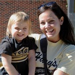 There were young Boilers everywhere Saturday as Purdue hosted Minnesota.
