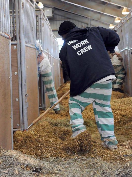 Inmate work crew