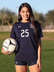 La Quinta High School soccer player Tatiana Woodworth,