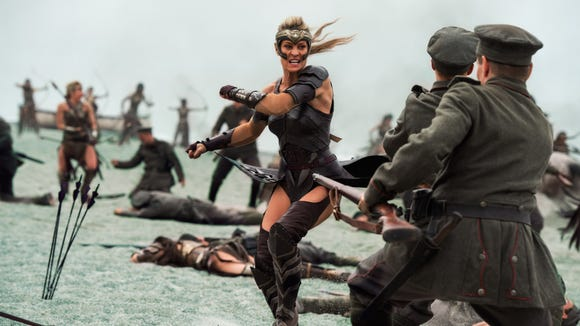 """Robin Wright in """"Wonder Woman,"""" a Warner Bros. Pictures"""
