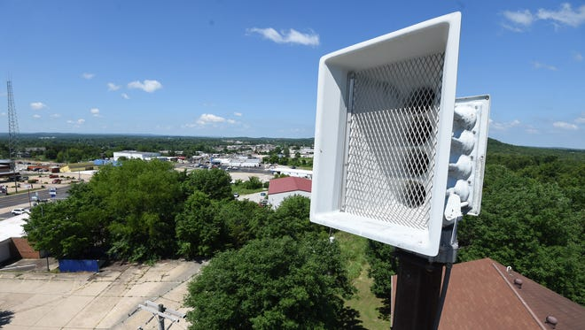 While the city of Mountain Home will continue to repair or replace warning sirens as necessary, Baxter County will phase their sirens out as they fail.