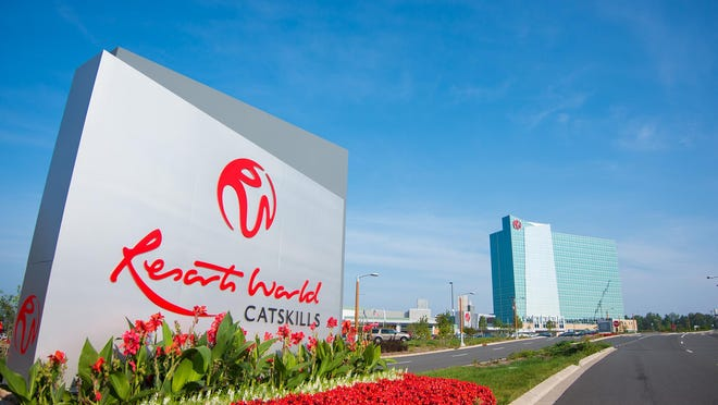 A political action committee was created a year ago by the operators of the Resorts World casinos in Sullivan County, above, and Queens, and was funded with $4.8 million.