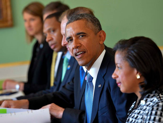 President Obama talks to the media at the Rosenbad government office on Sept. 4 in Stockholm. Obama stopped in Sweden for a short visit as he prepares to meet with other world leaders at the Group of 20 economic summit in St. Petersburg, Russia, on Sept. 5.