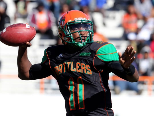 Fleming is the No. 2 passer in FAMU history.