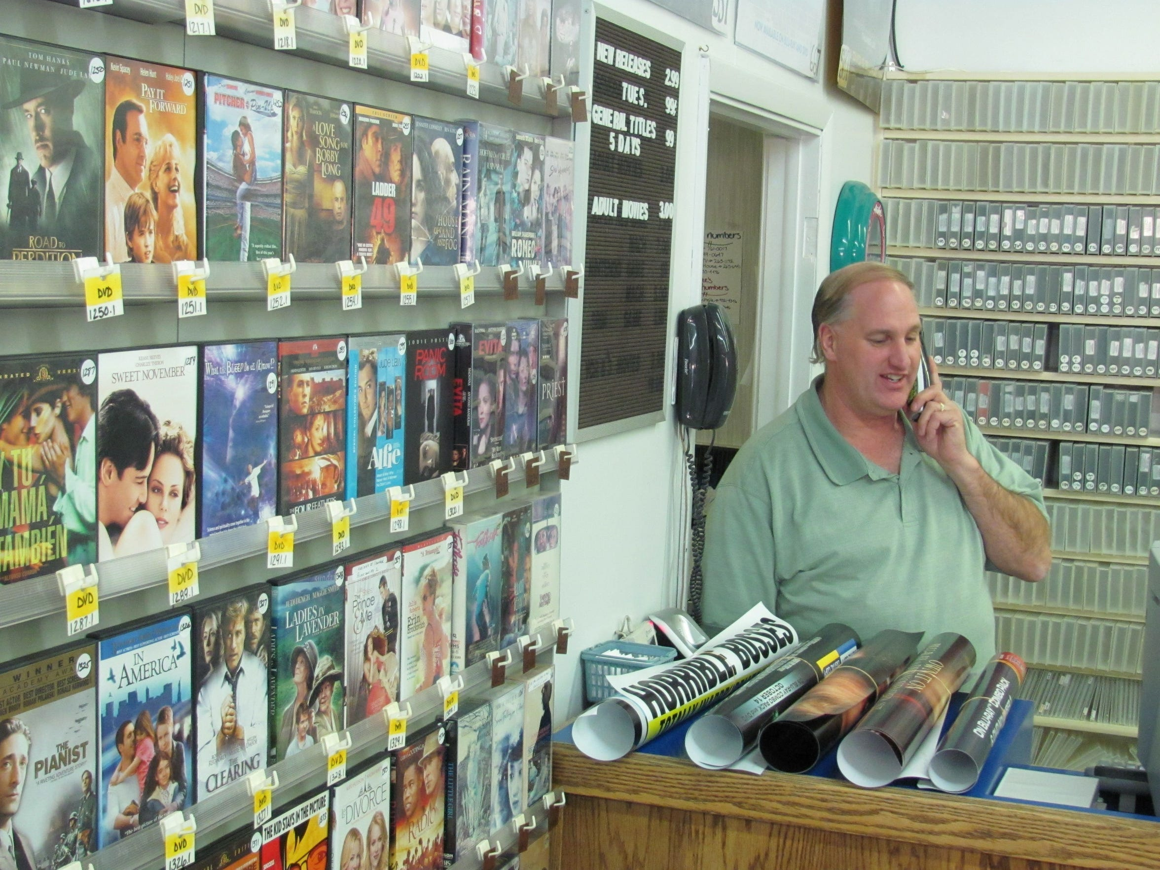 Paul Dockter is the longtime owner of One Stop Video,