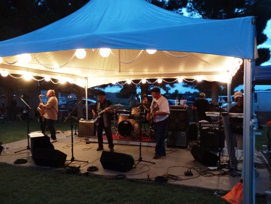 The 24/7 Blues Band will be one of three bands performing at the fifth annual Red, White and Blues Festival.
