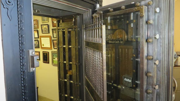 The secret vault that is hidden away on the second floor of the capitol.