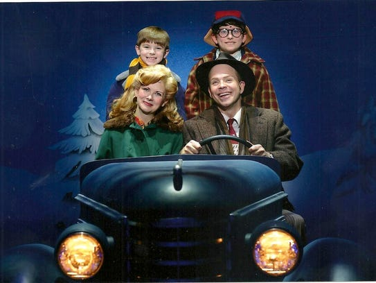 """Cal Alexander appearing in """"A Christmas Story."""""""