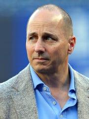 New York Yankees general manager Brian Cashman.