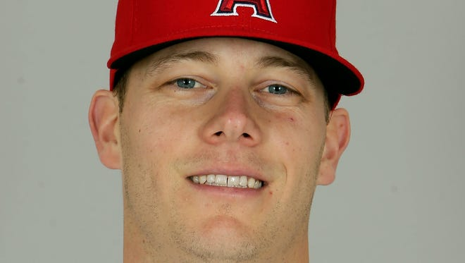 Los Angeles Angels relief pitcher Andrew Bailey (37) announced his retirement on Monday.