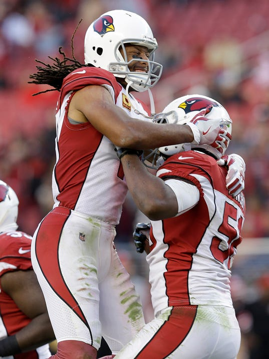 Larry Fitzgerald, Karlos Dansby