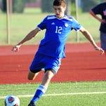 Tri-captain Jacob Sadowski will play a key role for the Garden City soccer team this fall.