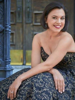 Mezzo-soprano Rachel Calloway will perform at Cornell with pianist Xak Bjerken on Saturday.