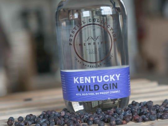 New Riff's Kentucky Wild Gin.
