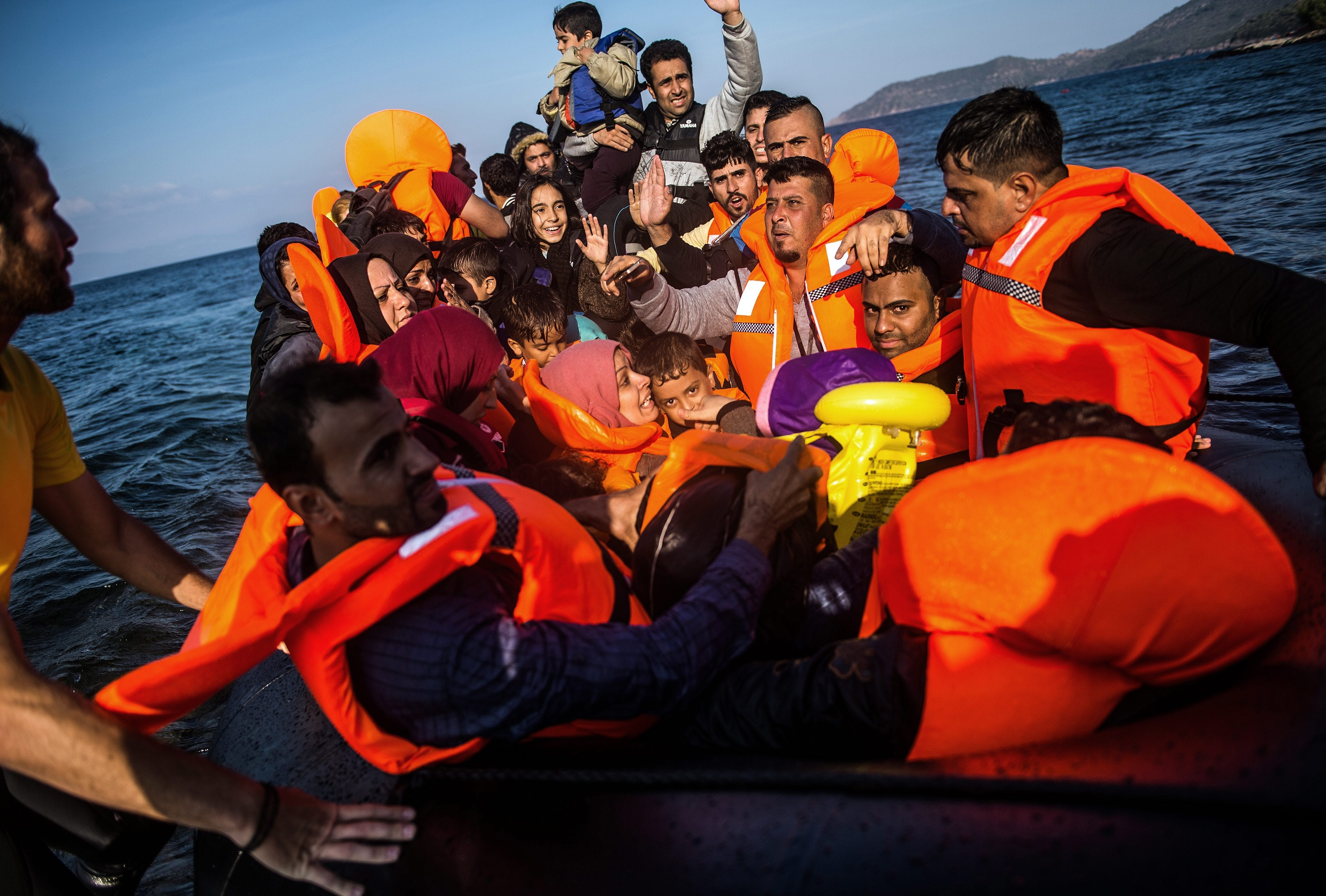 Drowned refugee photo essay