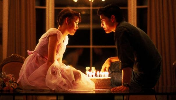 "A scene from ""Sixteen Candles,"" the 1980s comedy that will kick off the Cinebarre Outdoor Film Fest June 4."