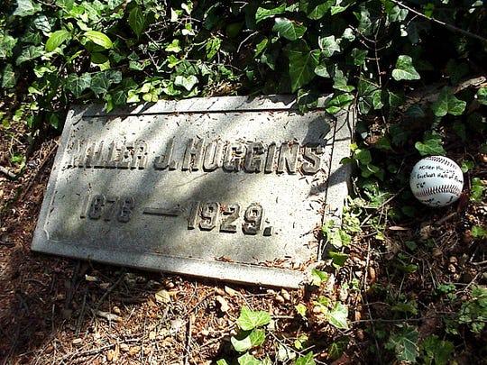 Miller Huggins grave marker