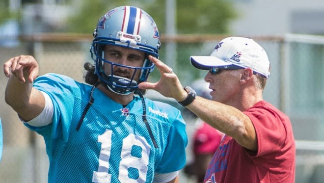 Jonathan Crompton now plays professional football for the Montreal Alouettes.