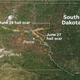 South Dakota hail storms caused so much damage, you can see it from space