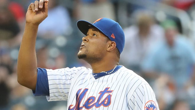 Jeurys Familia saved 84 games in 2015 and 2016.