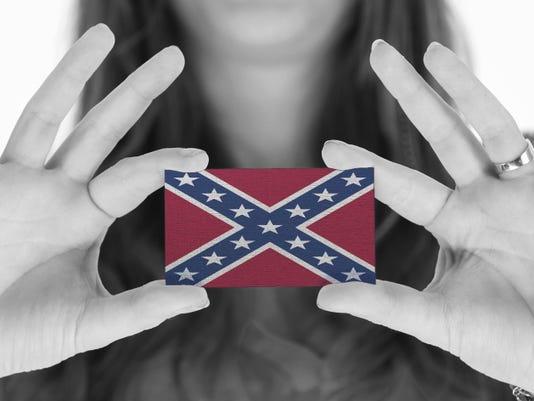 confederate business card