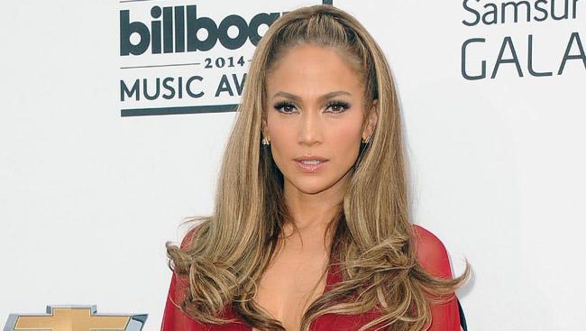 Jennifer Lopez Eyebrows 2014