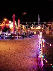 Mason and Debbie LeJeune see more than 2,000 visitors at their Christmas display each year.