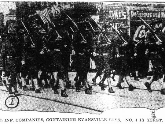 On April 6, 1918, a rainy Saturday, a massive parade
