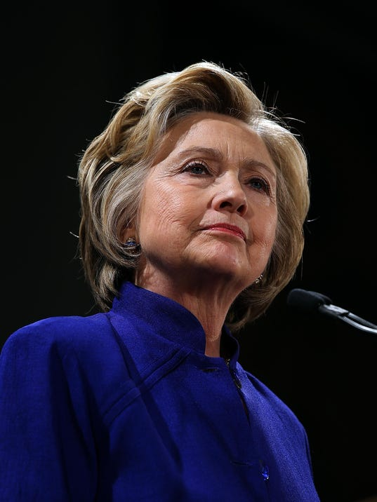 Democratic Presidential Candidate Hillary Clinton Campaigns In New York