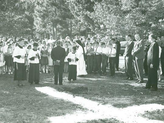 In 1952, Trinity Catholic School opened its doors as