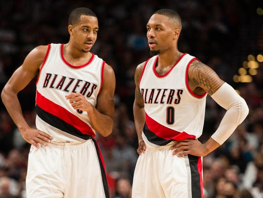 USP NBA: INDIANA PACERS AT PORTLAND TRAIL BLAZERS S BKN USA OR