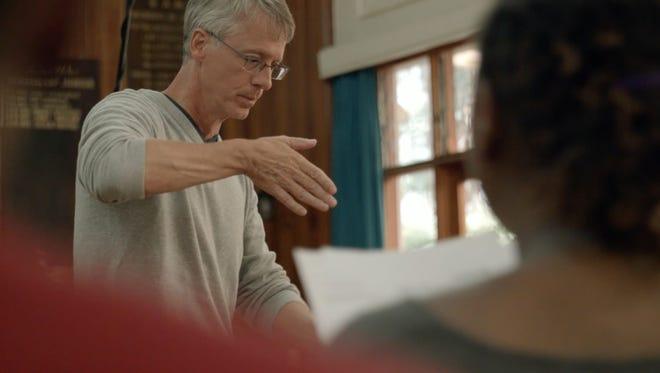Kevin Fenton in scene from documentary.