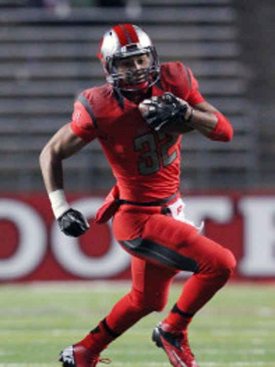 Rutgers running back Justin Goodwin rushed for 521 yards and five touchdowns in 11 games and two starts as a true freshman last season. (Mark Sullivan/MyCentralJersey.com)