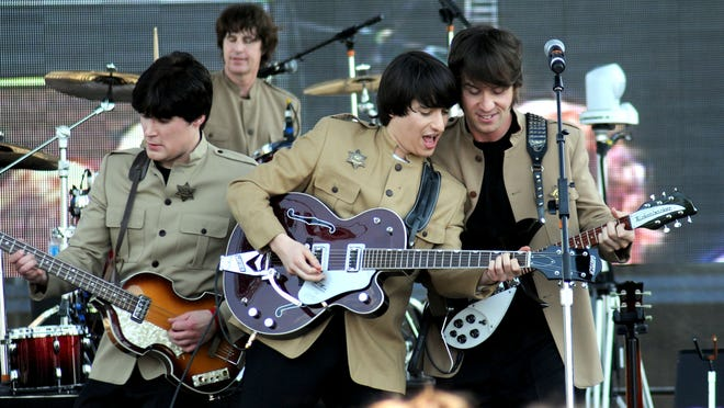The Beatles tribute band BritBeat played at Abbey Road On the River in May 2012.