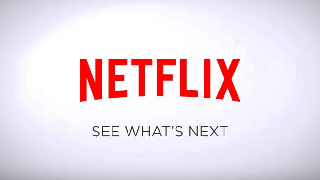 The words Netflix: See what's next