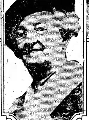 Nellie Barnes suffragette