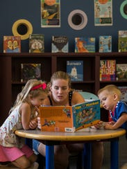 Cape Coral residents Nancy Gowdy, daughter Emily, 4,