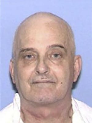 """This undated handout booking photo obtained June 27, 2018 courtesy of the Texas Department of Criminal Justice shows death row inmate Danny Bible. Attorneys for a serial murderer dubbed """"the ice pick killer"""" have asked that the US state of Texas execute him by firing squad or gas, instead of the lethal injection scheduled June 27, 2018. Danny Bible's lawyers claim Parkinson's disease and other ailments have left his veins too unreliable for the intravenous injection. As a result, they argue his execution Wednesday evening could end up being too painful. The lawyers for the 67-year-old, who uses a wheelchair, have petitioned the Supreme Court to intervene and stop the execution. They suggest the state could kill him by firing squad or gas instead.  / AFP PHOTO / Texas Department of Criminal Justice / Handout / RESTRICTED TO EDITORIAL USE - MANDATORY CREDIT """"AFP PHOTO / TEXAS DEPARTMENT OF  CRIMINAL JUSTICE"""" - NO MARKETING NO ADVERTISING CAMPAIGNS - DISTRIBUTED AS A SERVICE TO CLIENTS  HANDOUT/AFP/Getty Images ORIG FILE ID: AFP_16Q7HS"""