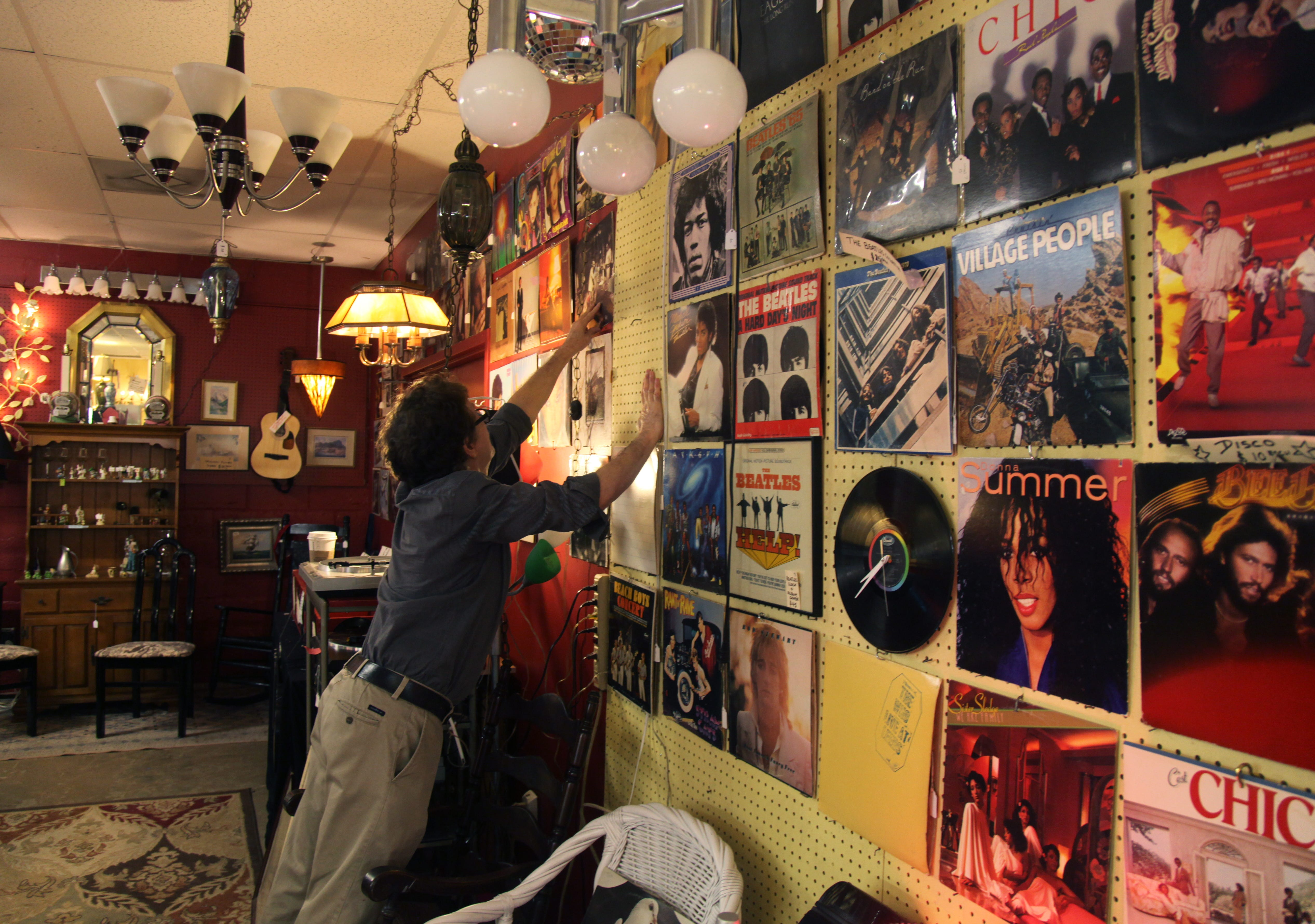 Naples downtown abounds with secondhand treasures