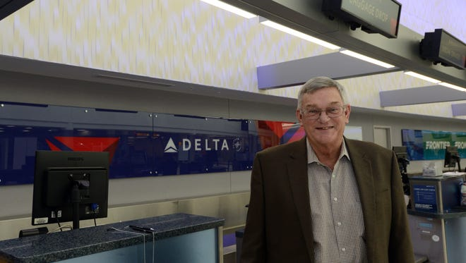 Baltimore resident Joe Farmer has worked for Delta Air Lines for 50 years. Farmer is an operations service manager for Delta. He started working for the airline at what's now John Glenn International Airport the day after he turned 18.