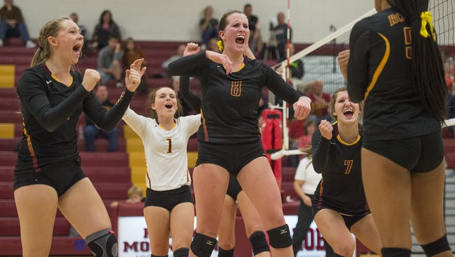 The Rocky Mountain High School volleyball team will host regionals on Saturday.