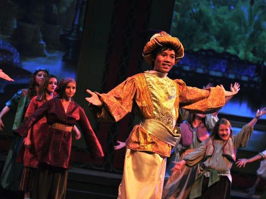 "Desert Foothills Theater put on Disney's ""Aladdin"" during spring 2013."